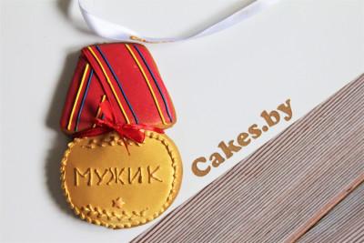 Пряник-медаль