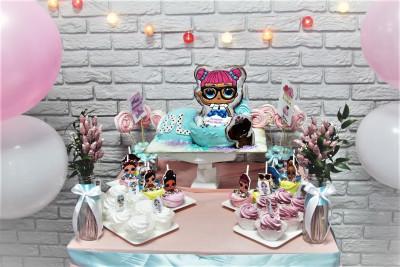 """Кенди-бар в стиле """"Куклы Лол"""""""