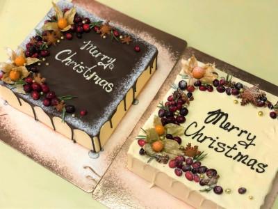 Рождественские торты (сет)