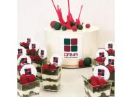 Корпоративный торт с трайфлами