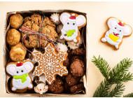 Новогодний набор печенья маленький