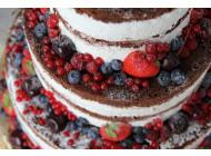 Голый ягодный торт 15 кг