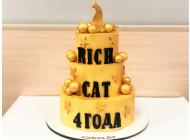 Торт для Rich Cat Club